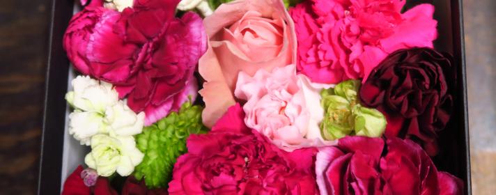 母の日お花教室